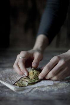 Vegan gluten free millet eggplant rolls