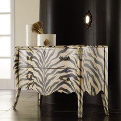 Hooker Furniture Melange Zora 2 Drawer Bombe Chest | www.amhomefurnishings.com