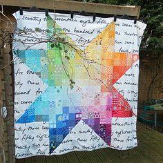 squar, color design, pattern, fli blind, star quilts, charm pack quilts, rocket cycl, cherri star, rainbow