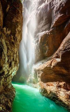 ✮ The Partnach Gorge, Germany