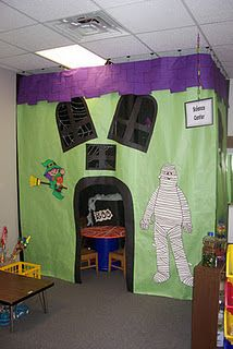 haunted house dramatic play center
