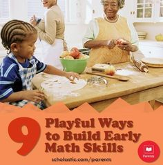 We have 9 simple ways to build your preschooler's early #math skills. Click to find them in our #LearningToolkit blog.