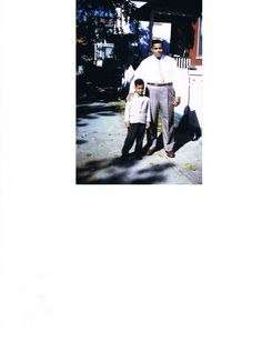 My Father and I when I was 5