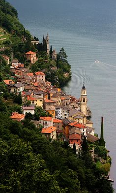 Brienno - Lago di Como, Italia
