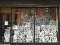 Shop window on Willoughby Street
