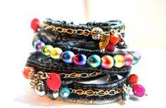 DIY: Denim bracelet