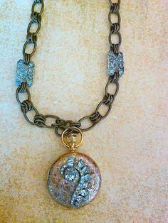 Vintage locket pendant by JNPVintageJewelry on Etsy, $149.00 #vjse2 #vintage #jewelry #boebot2