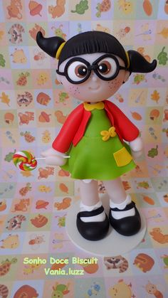Cute little girl by Sonho Doce Biscuit *Vania.Luzz*, via Flickr
