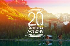 Check out 20 Light Leak Actions by Emperor on Creative Market