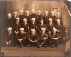 Esther's brother Enoch served in WWI. He is in the back row, fourth from the left.
