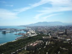 Beautiful city of Malaga, Spain