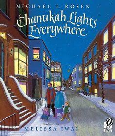Chanukah Lights Everywhere by Michael J. Rosen