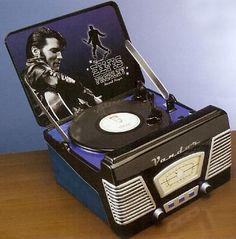 Elvis Record Player cookie jar