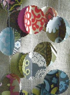 Etsy 3D Paper Garland