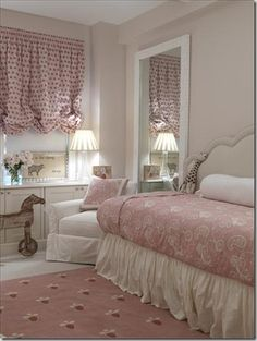 Big girl bedroom.