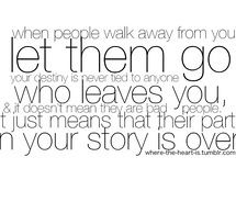 let them go