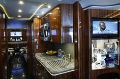 Check out the new luxury bus commissioned by the Dallas @Cowboys