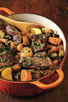 Spicy venison stew with Belgian Red Ale recipe #craftbeer