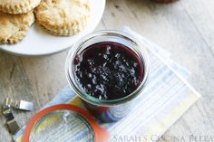 Easy Refrigerator Peach Blueberry Jam