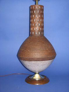 Bitosi Raymor Eames UE Era Danish Modern Huge Art Pottery Lamp Mid Century   eBay eam, danish modern
