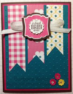 Creative Stampin' Spot: Stampin' Up! Label Love Baby Card