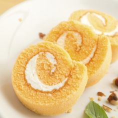 A yummy orange roll cake recipe with whipped cream filling.. Orange Roll Cake Recipe from Grandmothers Kitchen.
