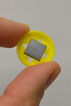 The Nanopatch is a small vaccine applicator that gets rid of the pain of needles.