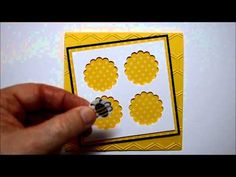 A little video for Creating Perfect Window Panes on Cards...3 cute cards made with this technique