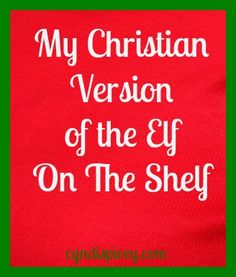 Christian Version of Elf on the Shelf