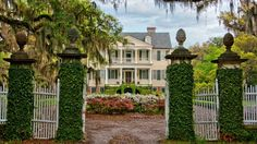 Southern charm on Edisto Island, near Charleston, South Carolina