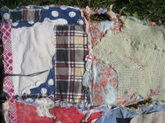 found, stitched and dyed: from Dorothy Caldwell in Canada