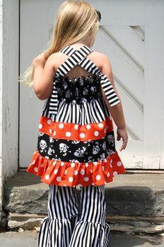 Punk Rock Knot - Above the Knee Dress