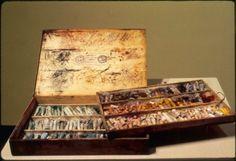 Boston Museum of Fine Arts: Mary Cassatt's pastel box.