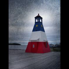 Nova Scotia lighthouse - Proud Acadian heritage :)