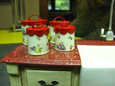kitchen canisters made from paper