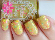 GlitterDaze Don't Rain On My Garden Party Nail Polish | Cosmetic Sanctuary