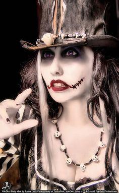 costume makeup - zombie