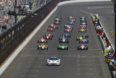 2012 Indianapolis 500 at the Indianapolis Motor Speedway.