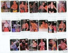Remember WWF Hostess Chips/Stickers?