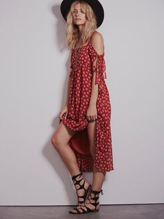 Free People Tied to You Daisy Dress at Free People Clothing Boutique