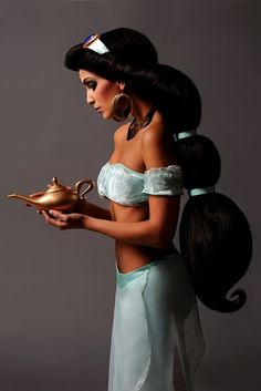 Princess Jasmine from Aladdin. Cosplay by Adrien. Photography by Ryan Astamendi.