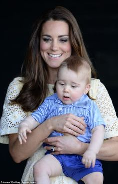 Kate and Prince George at the Taronga Zoo