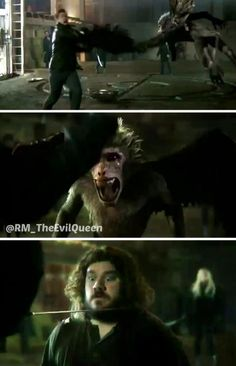 """Once Upon A Time 3x20 """"Kansas"""" -- flying monkeys are back #OnceUponATime #OUAT #Oncers #WickedVsEvil"""