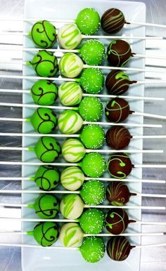 Love cake pops! But if you really want to see cake pops go to Sandy Dickson on pinterest. She has a whole board of cake pops!