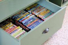 DVD Storage Drawer