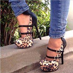 print heel, high heel, pump, cheetah heel, animal prints, leopard prints, heel shoe