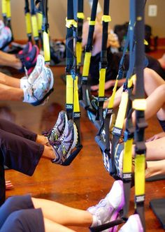 Starting this at my Job. TRX Suspension Training. Can't wait!