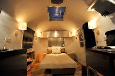 AIRSTREAM Architect Series: Overlander 1967 Conversion: After