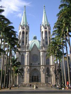 Catedral Metropolitana de Sao Paulo, Brasil
