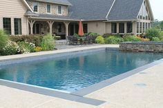 Rectangular Pool Design Ideas, Pictures, Remodel, and Decor - page 24